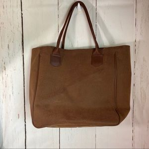 Cross canvas Co. Brown tote Bag